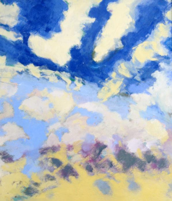 Sky Convoy - Oil on Canvas by Ken Van Der Does